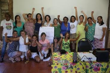 Agricultoras e Assessoras Técnicas no Lançamento do GT Mulheres da AARJ
