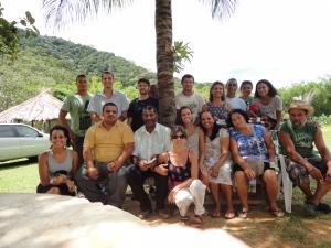 Na foto, Articulação de Agroecologia Serra Mar em dos encontros preparatórios