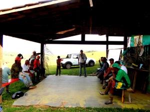 Conversa sobre as práticas agroflorestais - PDS Osvaldo de Oliveira