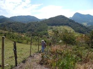 Avaliando área - São Pedro da Serra